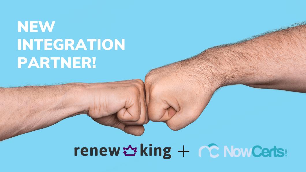 Renew King plus NowCerts